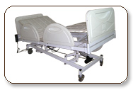 Adjustable ABS Beds (Light weight Material) special designed for easy movement so proper circulate a blood at all part of body.