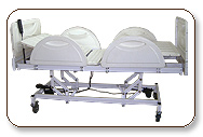 These Bed is most helpful at hospital for its height adjustable facility which is comfortable to patients height.