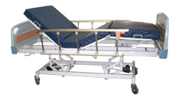 Motorized Metal Beds for HomeCare and Hospitals
