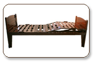 Wooden bed having different movement which operated by remote control.