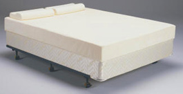 Homecare beds with protable mattress